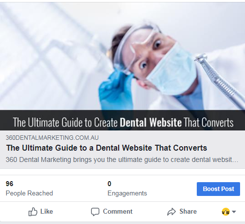360 Dental Marketing Facebook Posts