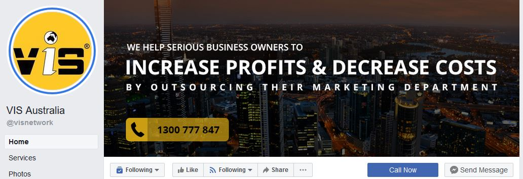 VIS Facebook Page Cover Image