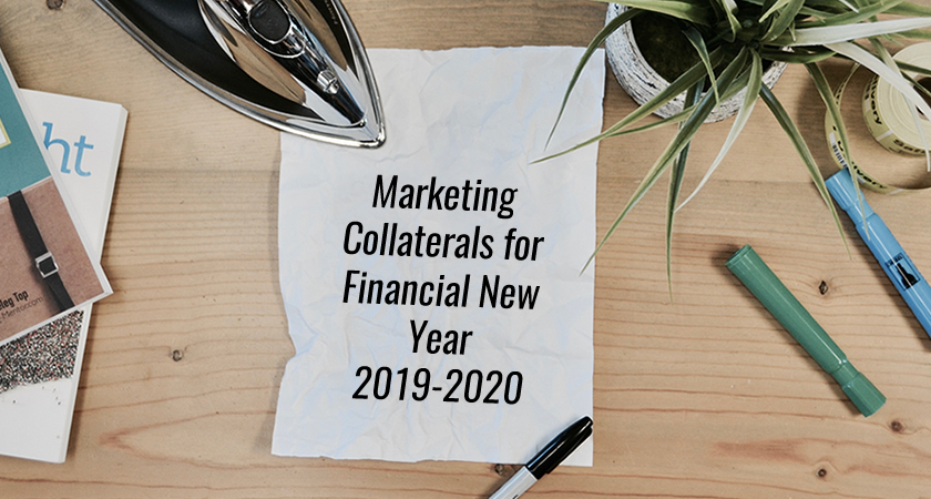 Getting Marketing Collaterals for Financial New Year